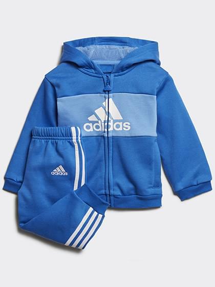 Adidas ORIGINALS LOGO HOODED JOGGER SET Kamasz fiú Jogging set